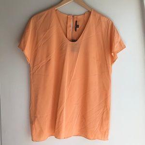 NWT Boss Hugo Boss Orange Easy Fit Long Top